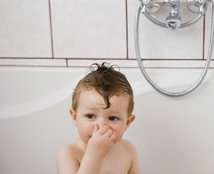 http://www.dreamstime.com/royalty-free-stock-images-baby-washing-bath-holding-nose-start-diving-under-water-image30109089